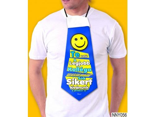 (NNY056) Óriás Nyakkendő – Te voltál a legjobb kolléga – Kolléga búcsúztató ajándék