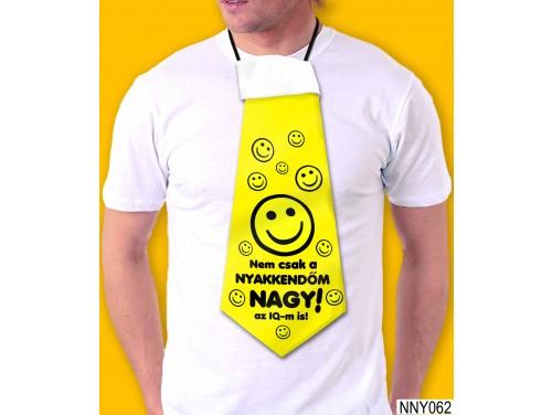 (NNY062) Óriás Nyakkendő – Nem csak a nyakkendőm nagy – Vicces Ajándékok