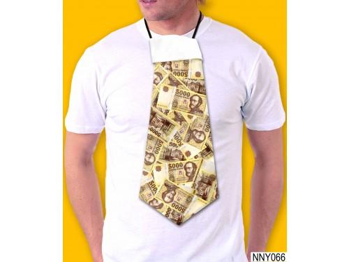 (NNY066) Óriás Nyakkendő – 5000 Forint mintás nyakkendő – Vicces Ajándékok