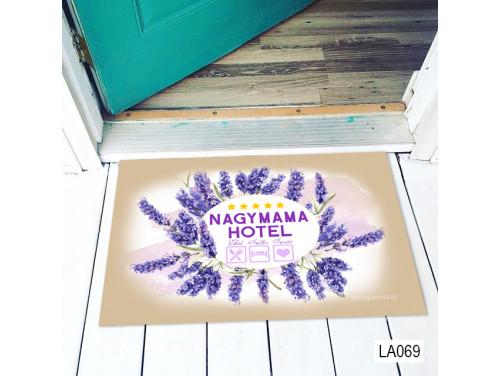 (LA069) Lábtörlő - Nagymama Hotel - Ajándék Nagymamának