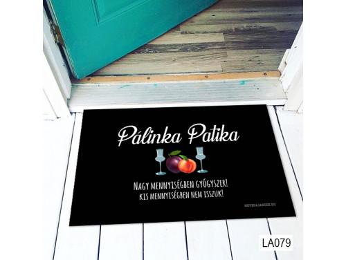 (LA079) Lábtörlő - Pálinka Patika - Vicces Pálinkás Ajándék