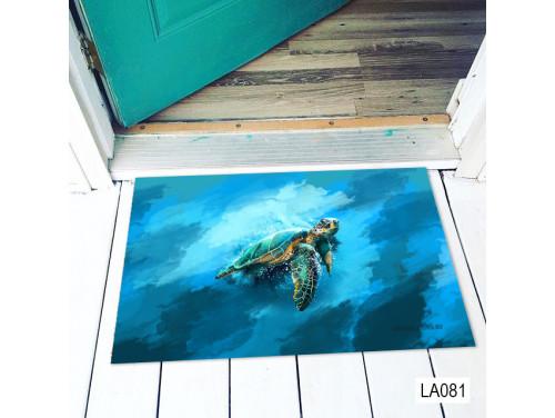 (LA081) Lábtörlő - Teknős - Teknősös Ajándék