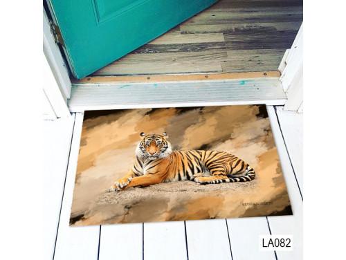 (LA082) Lábtörlő - Tigris - Tigrises Ajándék