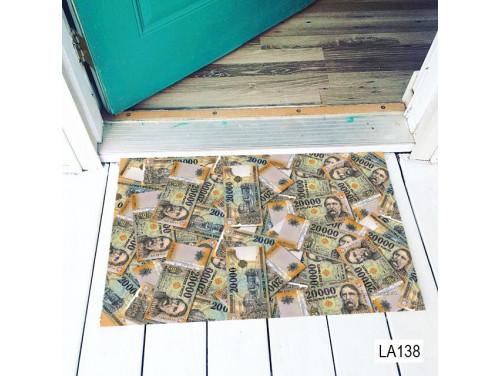 (LA138) Lábtörlő - Húszezres mintás lábtörlő - Vicces Lábtörlő, Ajándék